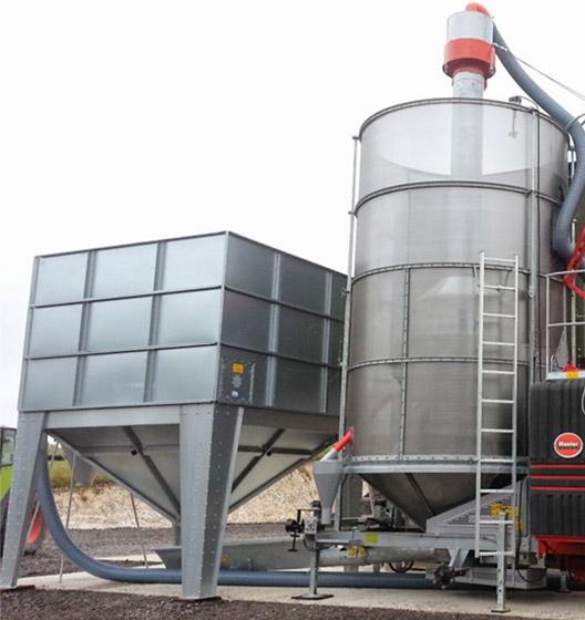 Wet Grain Bins   Master Farm Services